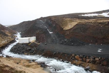 Kaldakvísl á Tjörnesi